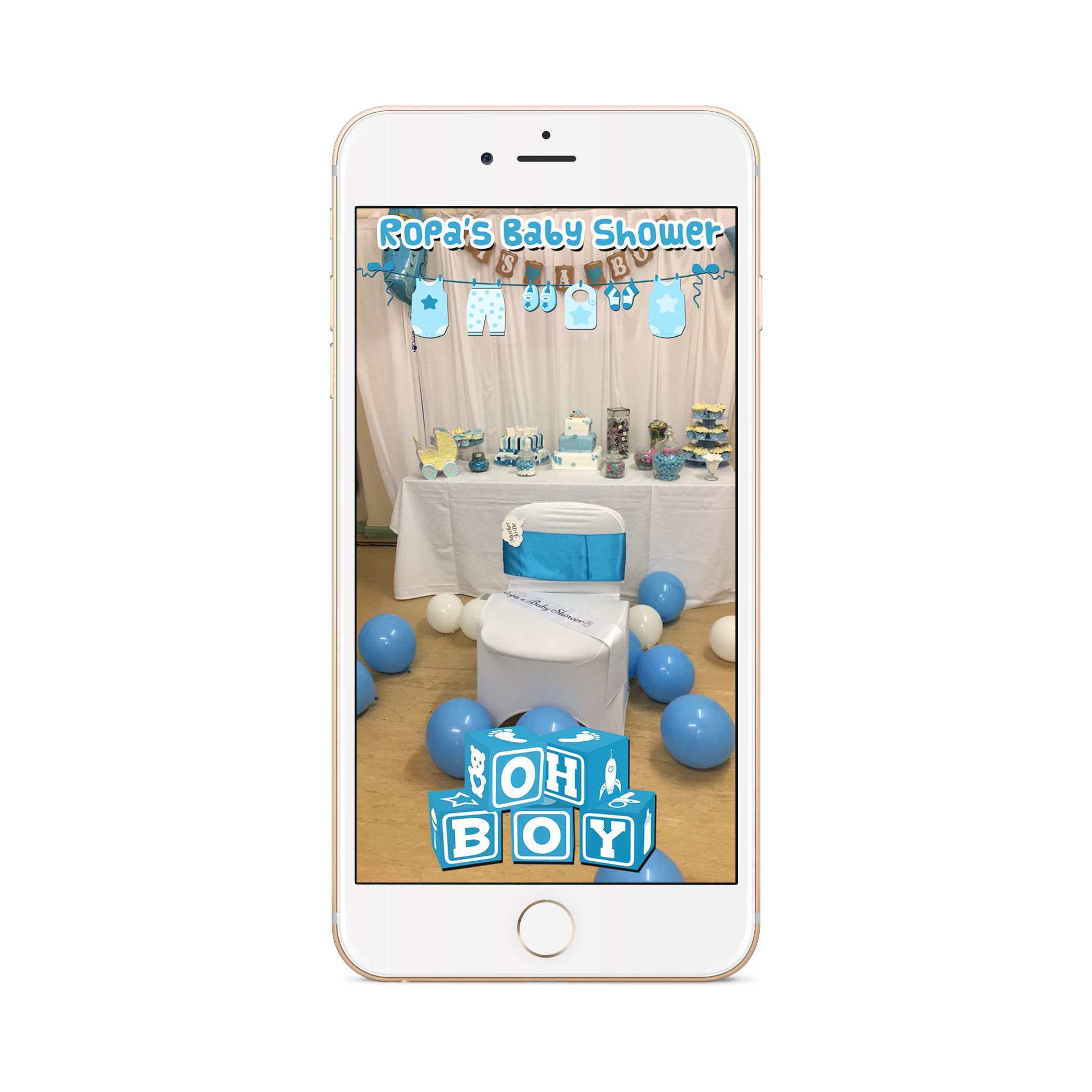 Baby Shower Filter